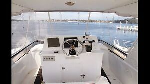 BOAT CABIN CRUISER FLYBRIDGE - Sensational Rotto boat Claremont Nedlands Area Preview