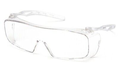 Pyramex Cappture Clear Anti Fog Extra Large Fit Over Most Safety Glasses Shield