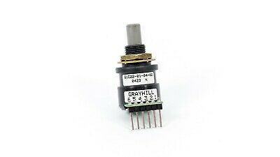 Grayhill 61c22-01-04-02 61c22 01 04 02 Optical Encoder 6pin