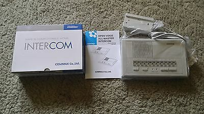 (Commax Intercom System CM-211M Open Voice All Master Brand New Old Stock)