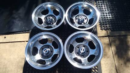 MAGNUM 14X8 DEEP DISH ALLOYS.  SUIT FORD CHRYSLER. Edwardstown Marion Area Preview