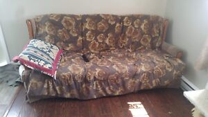 Matching couch and chair $60 for both