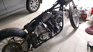Harley davidson custom 250 rear unfinished project Dakabin Pine Rivers Area Preview
