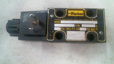 Parker Hydraulic Valve D1vw20bnqdw 5000psi 60hz .57a -free Shipping