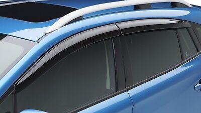 2017-2019 Subaru Crosstrek Impreza 5-Door Side Window Deflectors F0010FL030 OEM