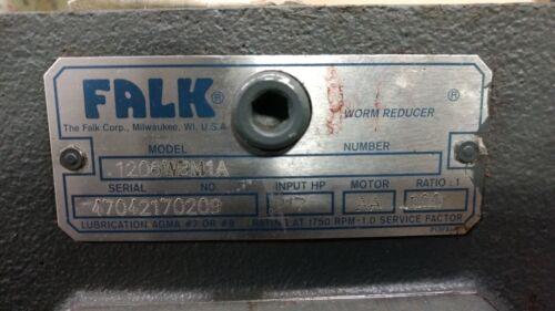 FALK GEAR REDUCER  MODEL 1206WBM1A SERIAL 47042170209