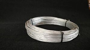 7X7 1/16 100' SNARE CABLE GALVANIZED AIRCRAFT CABLE  SURVIVAL WIRE TRAPPING