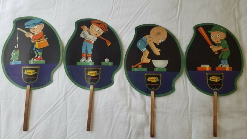 Edelweiss Beer Sign Lot of 4. ULTRA RARE
