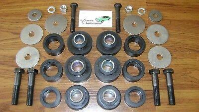 Body Mount Washer - Subframe Body Mount Bushing Kit with Hardware Bushings sub frame bolts washers