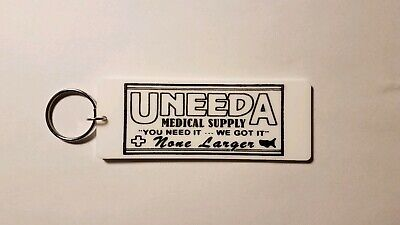 Uneeda Medical Supply Return of the living dead inspired keychain key chain