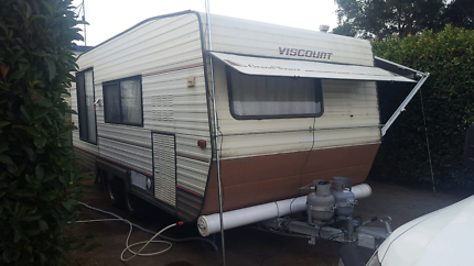 Caravan  roll out awning full annex ready for holidays