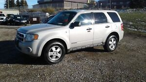 ** 2008 FORD ESCAPE XLT ** FULLY INSPECTED * WARRANTY INC *