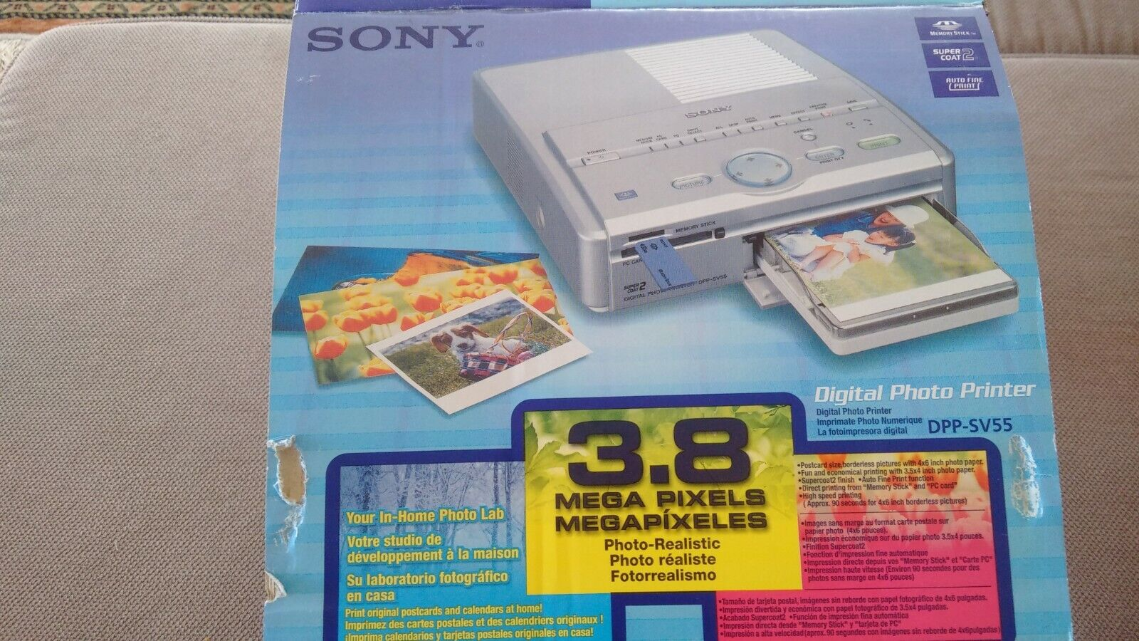Imprimante sony digital photo printer dpp-sv55