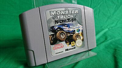 Monster Truck Madness 64 - Nintendo 64 N64 Modul ohne OVP aus Sammlung PAL