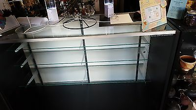 3 Glass Display Cases With Corner Units. Bought Brand New. Used 9 Months.