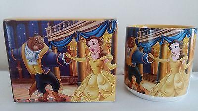 Disney beauty and the beast mug & box disney store exclusive 2009