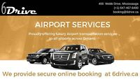 Airport taxi suv limo —-416-407-7355