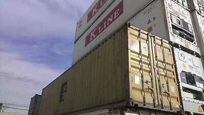 Used 40 Dry Van Steel Storage Container Shipping Cargo Conex Seabox Denver