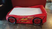 Lightning McQueen sports car bed
