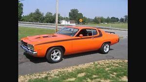 1973-4 plymouth road runner.