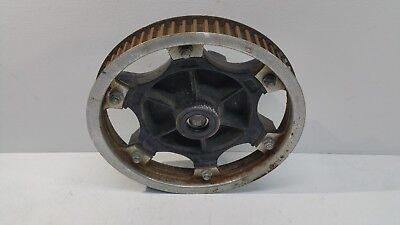 - 1989 Kawasaki LTD454 LTD 454 EN450 OEM Rear Belt Drive Pulley Cush Hub