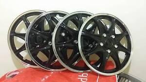 """NEW Universal Car 15"""" Wheel cover Rim Black & Chrome Hurstville Hurstville Area Preview"""