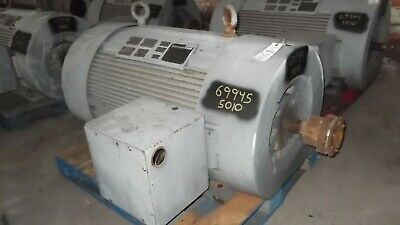 500 Hp Reliance Ac Electric Motor 3600 Rpm Fr 5010s Tefcbb 4000 V Eok