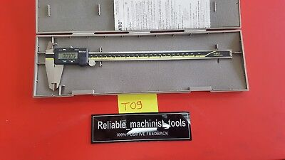 Excellentmitutoyo Japan Made 12 In Absolute Digital Calipermachinist Toolt09