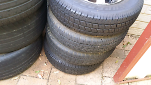 155 r12c rims tyres Canning Vale Canning Area Preview
