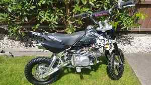 Braaap motorbike only 3 hours use since new. Berriedale Glenorchy Area Preview