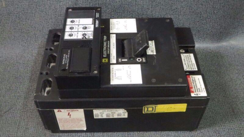 SQUARE D ELECTRONIC TRIP BREAKER # LXL36200 250 AMP FRAME/SENSOR LSI