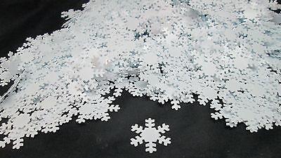 Make it Christmas 70gms White PVC Snowflake Confetti