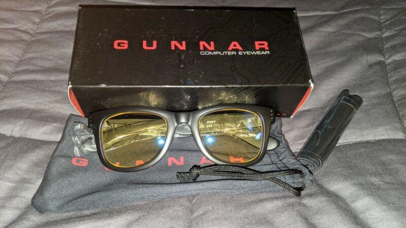 Gunnar Axial Gaming Glasses Block Blue Light Anti-Glare Onyx/Amber Sunglasses