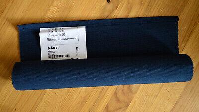 IKEA Tischläufer MÄRIT 35 x 130 cm dunkelblau *NEU*