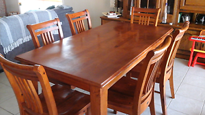 7 peice, 6 seater, dining table. Geelong Geelong City Preview