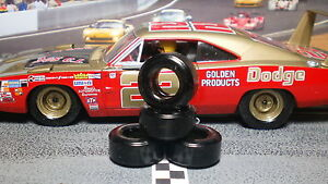 1-32-URETHANE-SLOT-CAR-TIRES-2pr-PGT-22103XD-034-Soft-034-fit-CARRERA-Historic-Nascar
