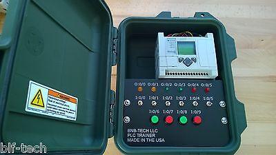 Allen Bradley 1763-l16bwa Micrologix 1100 Plc Trainer Hmi Software Training