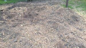 Free mulch soil mix