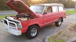 Jeep wagoneer AMC 360 Automatic 4 x 4 Dual fuel rat rod patina Wollongong Wollongong Area Preview
