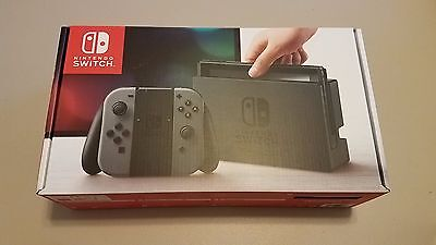 BRAND NEW Nintendo Switch 32GB Console with Gray Joy-Con (RECEIPT INCLUDED)