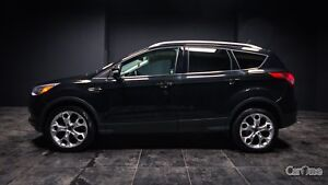 2014 Ford Escape Titanium TAN LEATHER! PUSH TO START! BACK UP...