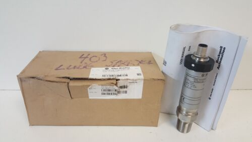 NEW IN BOX! ALLEN-BRADLEY PRESSURE TRANSDUCER 836E-TD1EN9-D4