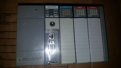 Allen Bradley Slc500 1746-a4rack 1747-l532 Slc 503acdc Input And Output