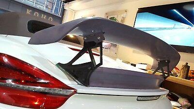 - Fiber glass GT Rear Spoiler Wing fit for Porsche 2013-2014 Boxster 981 techart