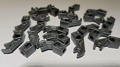 NEUWARE  K58 LEGO ®  20 x Ritterhelm in Flat Silver mit Augenschlitz