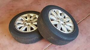 """2x 5-Stud Commodore Mag Wheels 16x7J 16"""" Rims Part #****5294 Used Willetton Canning Area Preview"""