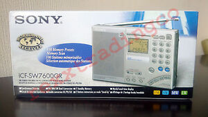 NEW-SONY-ICF-SW7600GR-World-Band-AM-FM-Shortwave-Digital-Radio-MADE-IN-JAPAN