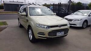 2013 Ford Territory Wagon AUTO TURBO DIESEL 7 SEATER LOW KMS Williamstown North Hobsons Bay Area Preview