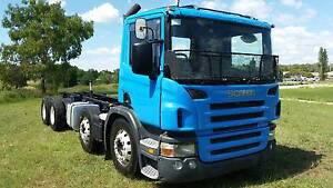 2005 Scania P380 8x4 auto cab/chassis truck. PTO Hydraulics. Inverell Inverell Area Preview