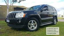 2007 Jeep Grand Cherokee, 3L Turbo Diesel auto from $84 week TAP* Braybrook Maribyrnong Area Preview